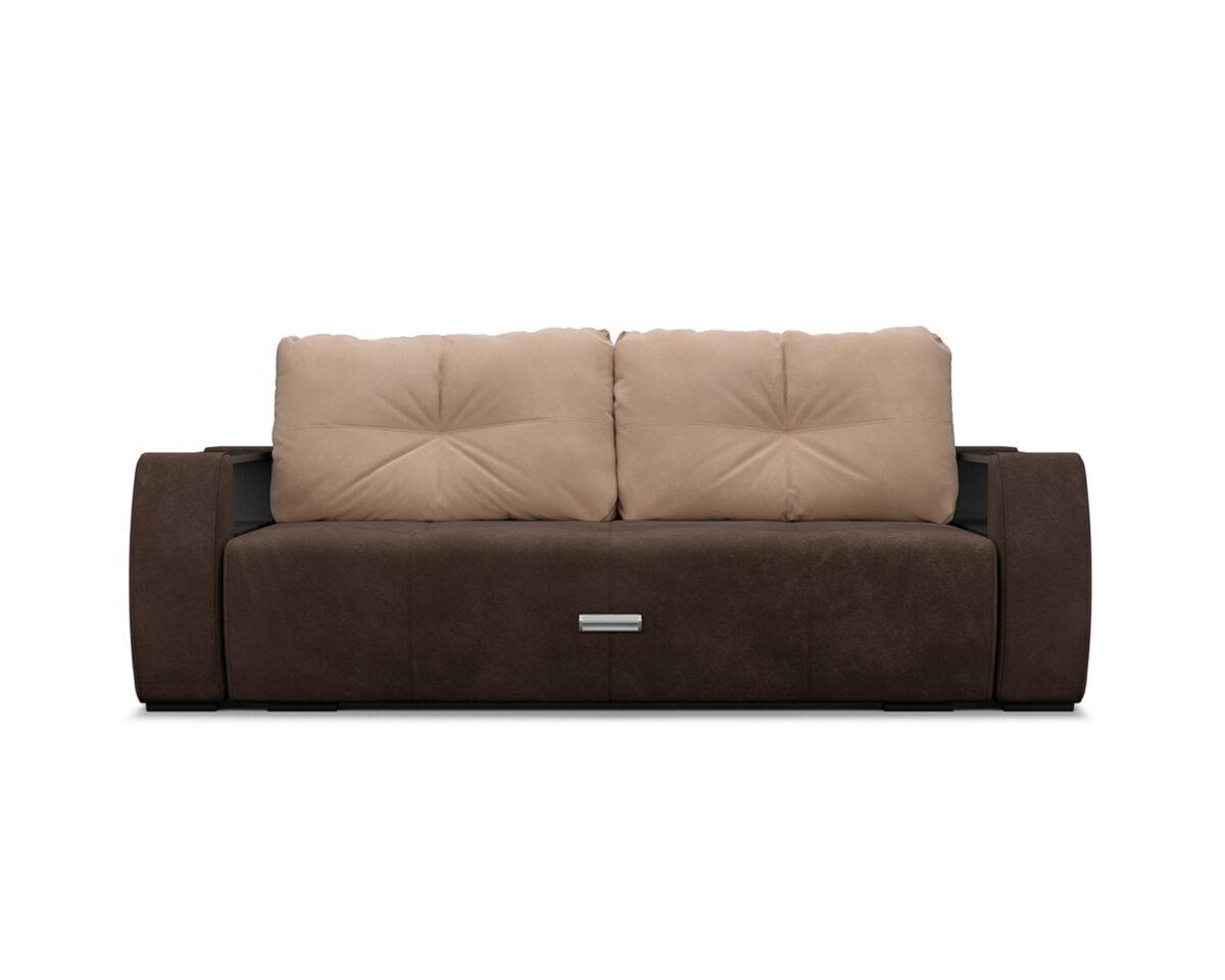 Мальтида (коричневый Luna 092 + подушки бежевый Luna 061) 2