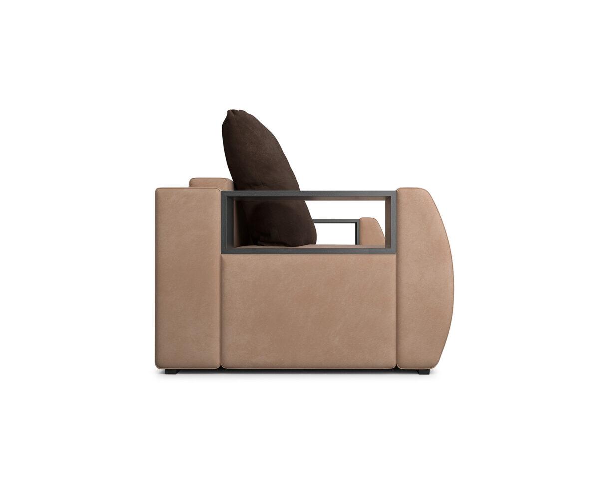 Мальтида (бежевый Luna 061 + подушки коричневый Luna 092) 4