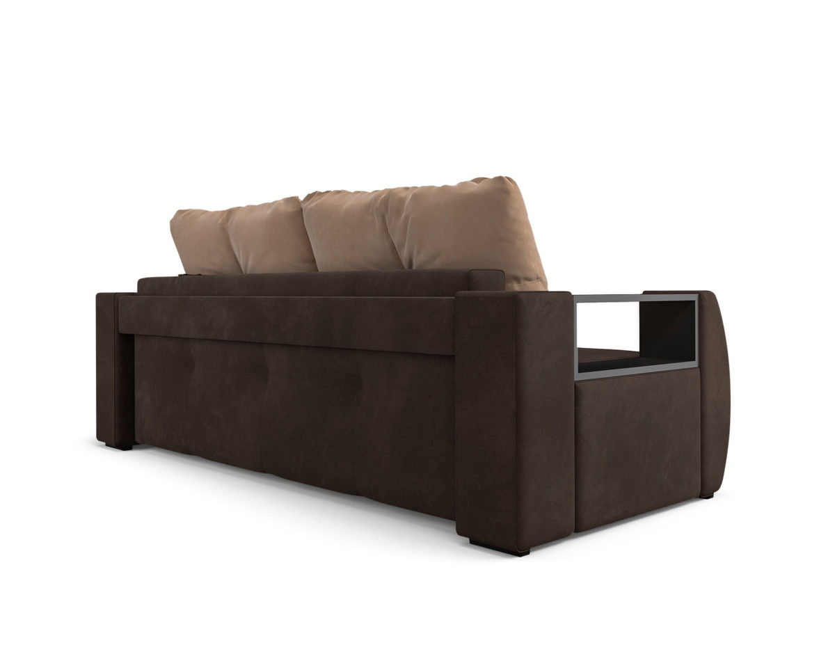 Мальтида (коричневый Luna 092 + подушки бежевый Luna 061) 4