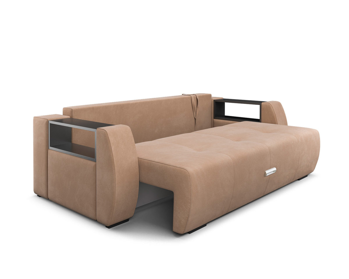 Мальтида (бежевый Luna 061 + подушки коричневый Luna 092) 7