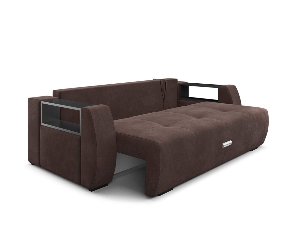 Мальтида (коричневый Luna 092 + подушки бежевый Luna 061) 6