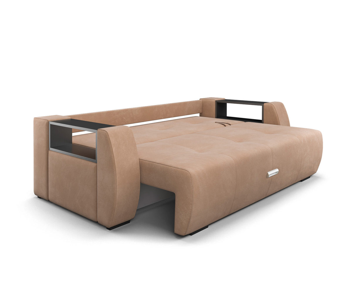 Мальтида (бежевый Luna 061 + подушки коричневый Luna 092) 6