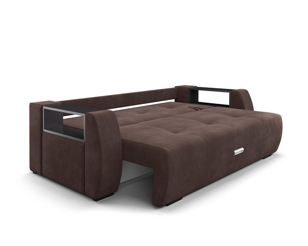 Мальтида (коричневый Luna 092 + подушки бежевый Luna 061) 5