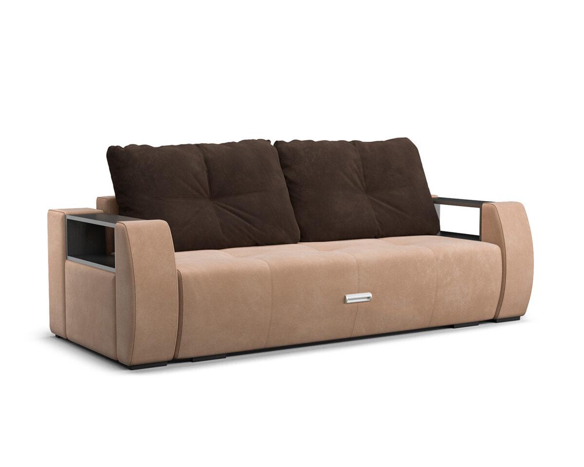 Мальтида (бежевый Luna 061 + подушки коричневый Luna 092) 1
