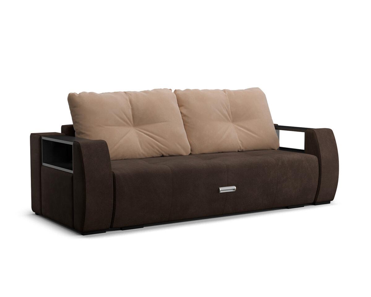 Мальтида (коричневый Luna 092 + подушки бежевый Luna 061) 1