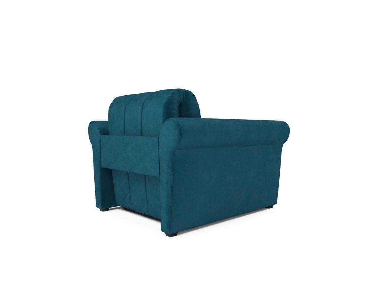 Гранд (бархат сине-зеленый / STAR VELVET 43 BLACK GREEN) 4
