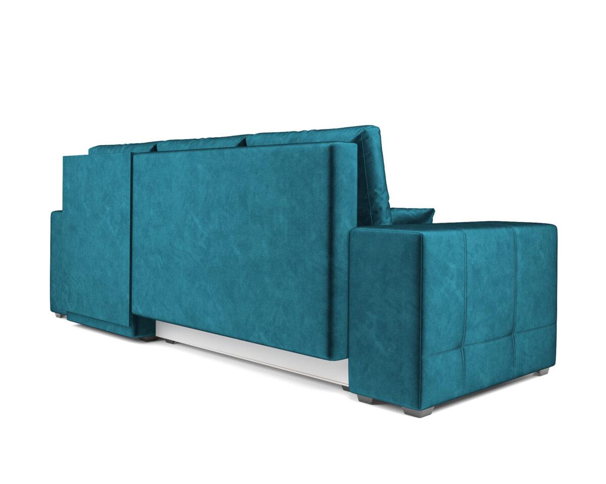 Монреаль Правый угол (бархат сине-зеленый STAR VELVET 43 BLACK GREEN) 4